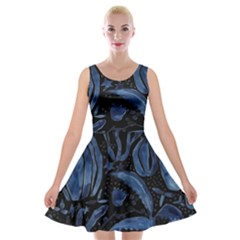 Art And Light Dorothy Velvet Skater Dress
