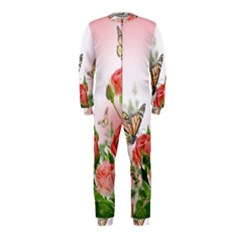 Flora Butterfly Roses OnePiece Jumpsuit (Kids)