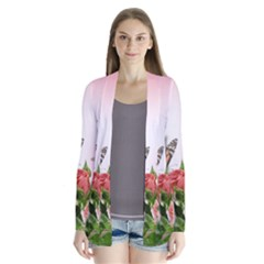 Flora Butterfly Roses Cardigans
