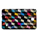 Abstract Multicolor Cubes 3d Quilt Fabric Samsung Galaxy Tab 4 (8 ) Hardshell Case  View1