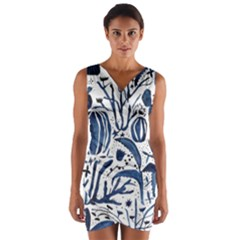 Art And Light Dorothy Wrap Front Bodycon Dress