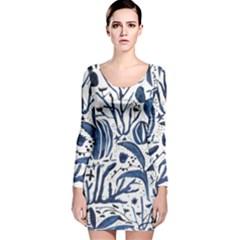 Art And Light Dorothy Long Sleeve Velvet Bodycon Dress