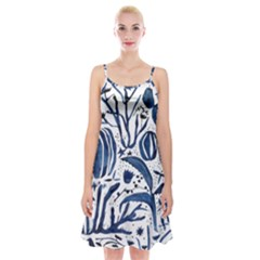 Art And Light Dorothy Spaghetti Strap Velvet Dress