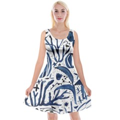 Art And Light Dorothy Reversible Velvet Sleeveless Dress