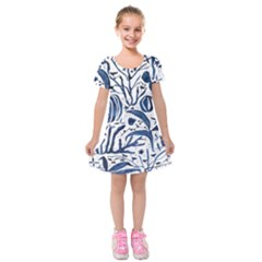Art And Light Dorothy Kids  Short Sleeve Velvet Dress