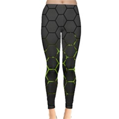 Green Android Honeycomb Gree Leggings