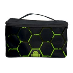 Green Android Honeycomb Gree Cosmetic Storage Case