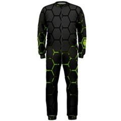 Green Android Honeycomb Gree Onepiece Jumpsuit (men)