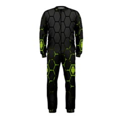 Green Android Honeycomb Gree OnePiece Jumpsuit (Kids)