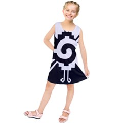 Maya Calendar Native American Religion Kids  Tunic Dress