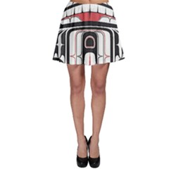 Ethnic Traditional Art Skater Skirt