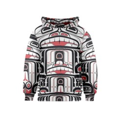 Ethnic Traditional Art Kids  Pullover Hoodie