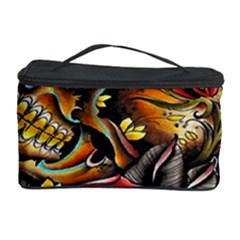 Flower Art Traditional Cosmetic Storage Case