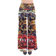Flower Art Traditional Pants