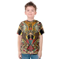 Hail Fine Art Print Kids  Cotton Tee