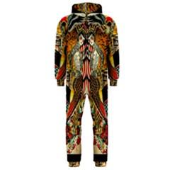 Hail Fine Art Print Hooded Jumpsuit (Men)