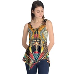 Hail Fine Art Print Sleeveless Tunic