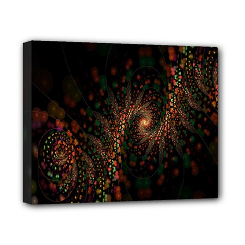 Multicolor Fractals Digital Art Design Canvas 10  x 8