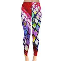 Multicolor Wall Mosaic Leggings