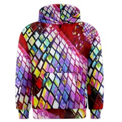 Multicolor Wall Mosaic Men s Zipper Hoodie