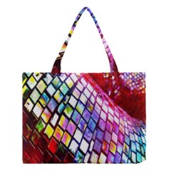 Multicolor Wall Mosaic Medium Tote Bag