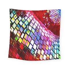 Multicolor Wall Mosaic Square Tapestry (Small)