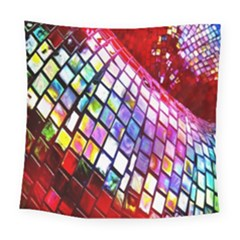 Multicolor Wall Mosaic Square Tapestry (large)