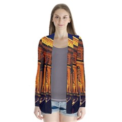 Paris Cityscapes Lights Multicolor France Cardigans