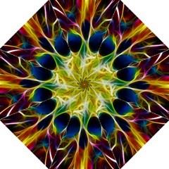 Skulls Multicolor Fractalius Colors Colorful Straight Umbrellas