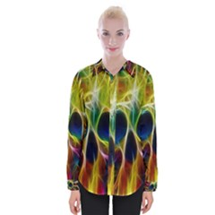 Skulls Multicolor Fractalius Colors Colorful Shirts