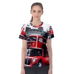 London Bus Women s Sport Mesh Tee
