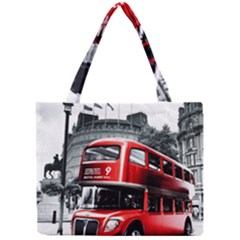 London Bus Mini Tote Bag