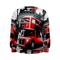 London Bus Women s Sweatshirt