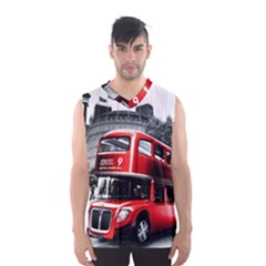 London Bus Men s Basketball Tank Top