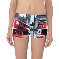 London Bus Boyleg Bikini Bottoms