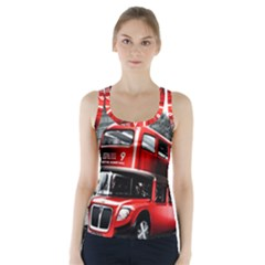 London Bus Racer Back Sports Top
