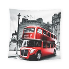 London Bus Square Tapestry (Small)