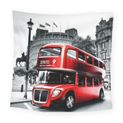 London Bus Square Tapestry (Large)