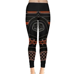 Traditional Northwest Coast Native Art Leggings
