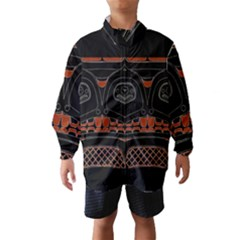 Traditional Northwest Coast Native Art Wind Breaker (kids)