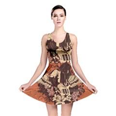 Rock Music Moves Me Reversible Skater Dress