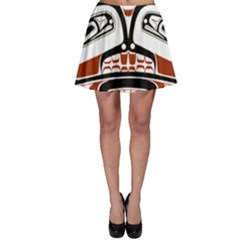Traditional Northwest Coast Native Art Skater Skirt