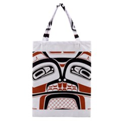 Traditional Northwest Coast Native Art Classic Tote Bag