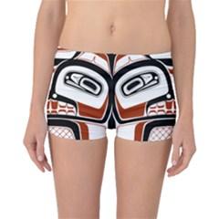 Traditional Northwest Coast Native Art Boyleg Bikini Bottoms