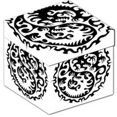 Ying Yang Tattoo Storage Stool 12