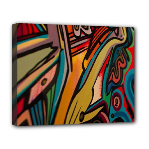 Vivid Colours Deluxe Canvas 20  x 16
