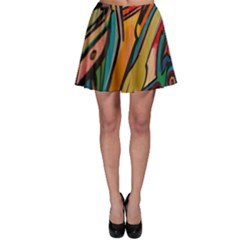 Vivid Colours Skater Skirt