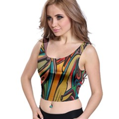 Vivid Colours Crop Top