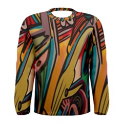 Vivid Colours Men s Long Sleeve Tee