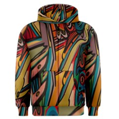 Vivid Colours Men s Zipper Hoodie